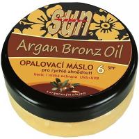 SUN VITAL Opalovací máslo s arganovým olejem OF 6 200 ml