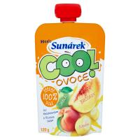 SUNÁREK Cool Ovocná kapsička Broskev Jablko Banán 120 g