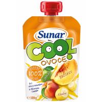 SUNAR Cool Ovocná kapsička Broskev Jablko Banán od 12.měsíce 120 g