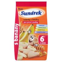 SUNÁREK Dětské sušenky s banánem 175 g