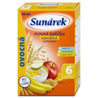 SUNÁREK  Kašička ovocná s 8 cereáliemi nemléčná 180 g