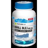 SWISS NATUREVIA Krill olej 500 mg 60 kapslí