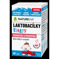 SWISS NATUREVIA Laktobacílky baby 60 sáčků
