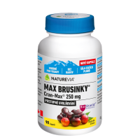SWISS NATUREVIA Max Brusinky Cran-Max 8500mg 90 kapslí