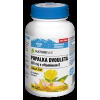 SWISS NATUREVIA Pupalka dvouletá 500 mg + vit E 90 kapslí