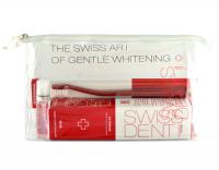 Swissdent sada EXTREME (pasta 100 ml Extreme + spray 9 ml Extreme + kartáček whitening + taštička)