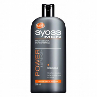 SYOSS Men Šampon Power&Strenght 500 ml