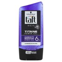 TAFT Men Titane Power Gel na vlasy 150 ml