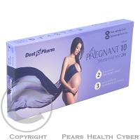 Těhotenský test PREGNANT 10 2 kusy
