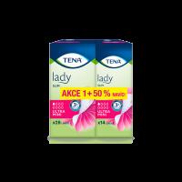TENA Lady slim ultra Mini inkontinenční vložky 50% NAVÍC 1 kapka 42 kusů