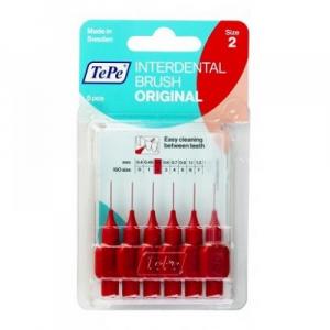 TEPE Mezizubní kartáčky ORIGINAL červené 0,5 mm 6 ks