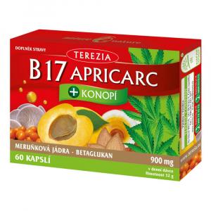 TEREZIA B17 Apricarc + Konopí 60 kapslí