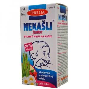 TEREZIA Nekašli junior 100% přírodní bylinný sirup na kašel 150 ml