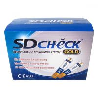 TESTOVACÍ proužky pro glukometr SD-CHECK GOLD 50ks