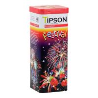 TIPSON Festival Raspberry černý sypaný čaj 75 g