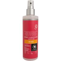 URTEKRAM BIO Rozmazlující růžový kondicionér ve spreji 250 ml