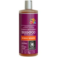 URTEKRAM BIO Šampon se severskými bobulemi na poškozené vlasy 500 ml