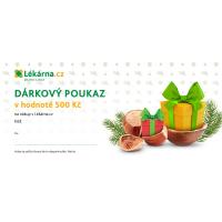 Vánoční elektronický dárkový poukaz 500 Kč