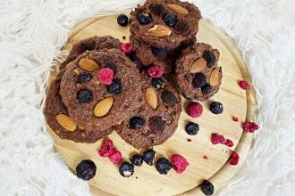 Vaříme zdravě: Čokoládové sušenky bez lepku