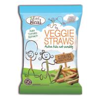EAT REAL Veggie Straws zeleninové pro děti 20 g BEZ lepku