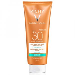 VICHY Capital ochranné mléko na obličej a tělo SPF 30 300 ml