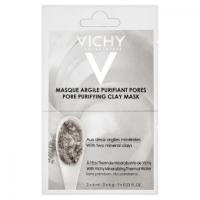 VICHY Čisticí jílová pleťová maska 2 x 6ml