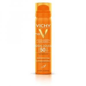 VICHY  Idéal Soleil osvěžující opalovací sprej na obličej SPF 50  75 ml