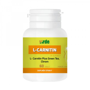 VIRDE L-Carnitin Plus Green Tea + Chrom 60 tablet