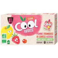 VITABIO ovocné BIO kapsičky Cool Fruits jablko, malina, banán a acerola 12 x 90 g