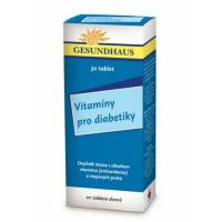 Vitaminy pro diabetiky 30 tablet