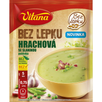 VITANA Hrachová polévka se slaninou bez lepku 74 g