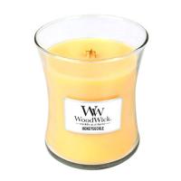 WOODWICK Vonná svíčka váza Honeysuckle 275 g