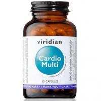 VIRIDIAN Nutrition Cardio Multi 60 kapslí