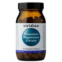 VIRIDIAN Nutrition Potassium Magnesium Citrate 90 kapslí