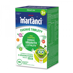 WALMARK Marťánci s Imunactivem Mix 90 tablet