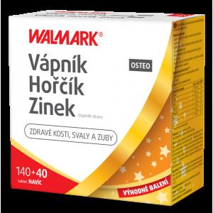 WALMARK Vápník-Hořčík-Zinek Osteo 120+60 tablet PROMO 2020