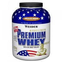 WEIDER Premium Whey syrovátkový protein Čokoláda-Nugát 2300 g