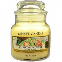 YANKEE CANDLE Classic malý Svíčka 104 g, Vůně: Christmas Cookie