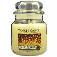YANKEE CANDLE Classic All is Bright střední 411 g