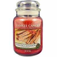 YANKEE CANDLE Sparkling Cinnamon Classic velký 623 g
