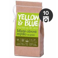 YELLOW&BLUE Mleté olivové mýdlo na praní 200 g