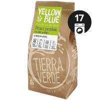 YELLOW&BLUE Prací prášek na bílé prádlo a látkové pleny papírový sáček 850 g