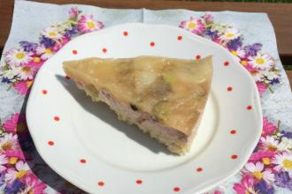 Zdravé vaření: Jahelník s rebarborou