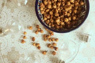Zdravé vaření: Mírně pikantní pražená cizrna