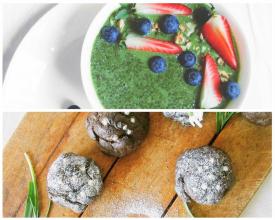 Zdravé vaření: Na Zelený čtvrtek zelený chia pudink s mini mazanci