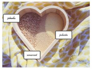 Zdravé vaření: Netradiční přílohy - polenta, pohanka, amarant