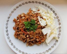 Zdravé vaření: Smažená rýže s arašídy