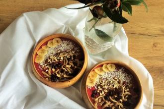 Zdravé vaření: Snídaňová smoothie bowl