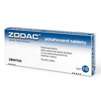 ZODAC 10 mg 10 potahovaných tablet