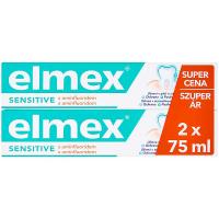 ELMEX Sensitive Zubní pasta s aminfluoridem 2x 75 ml